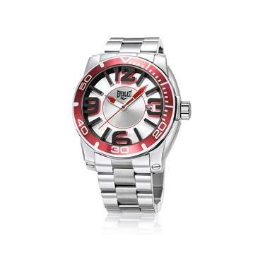 fe3cd44f83c Relógio Masculino Analógico Everlast E540 - Prata