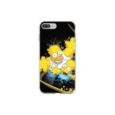 Capa para iPhone 7 Plus - Mycase | Simpsons | Homer e Bart