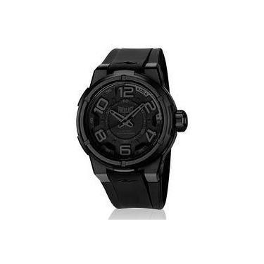 521d31f8f76 Relógio Everlast Masculino Torque E683 Caixa ABS e Pulseira Silicone Preto