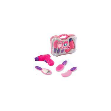 Imagem de Kit Beleza Infantil Com Acessórios Beauty 4 Peças Na Maleta