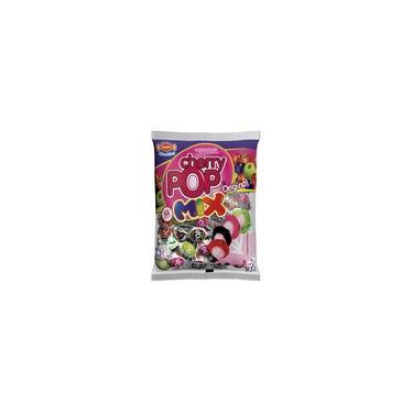 Pirulito Cherry Pop Mix Recheio Chiclete c/50 - Sams