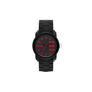 02c0c55d2ee Relógio Masculino Diesel Armbar DZ1777 8PN 44mm Silicone Preto