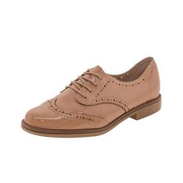 Sapato Feminino Oxford Beira Rio - 4170102 Bege 37