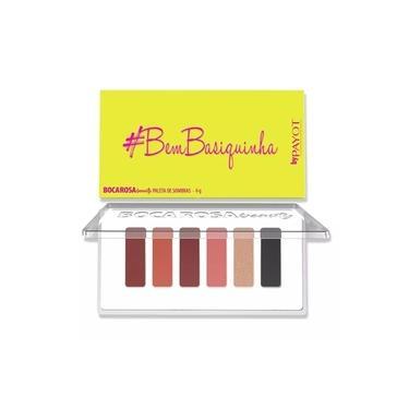 Payot #BemBasiquinha Boca Rosa Beauty Paleta de Sombras 6g