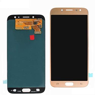 Tela Touch Display LCD Samsung Galaxy J7 Pro J730 Dourado