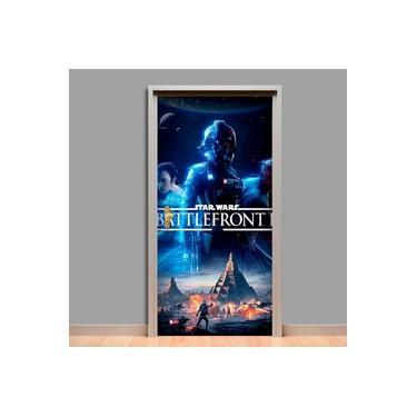 Adesivo Para Porta Star Wars Battlefront 2