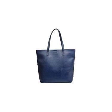 Bolsa Feminina de Mão Dumond Grande Shopper Tachas 484938