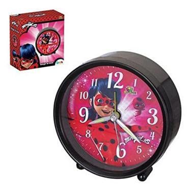 Imagem de Relógio De Mesa Despertador Miraculous Ladybug