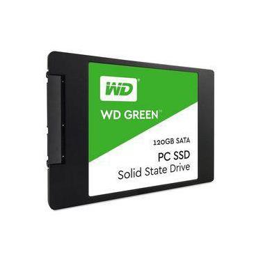 SSD WD Green 120GB SATA3 6Gbs WDS120G1G0A-00SS50