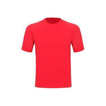 Camiseta Silver Fresh MC Masculina com Proteção Solar 50 Vermelha Manga Curta Curtlo