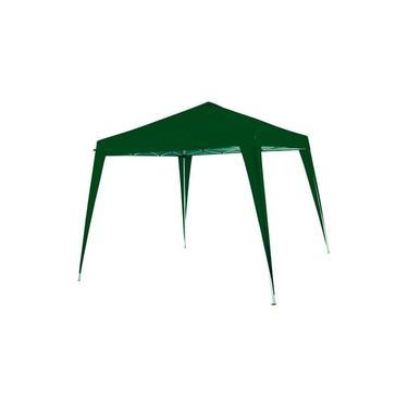 Gazebo dobrável em aço galvanizado 3 x 3 x 2,5 m verde - DUXX - Nautika (Verde)