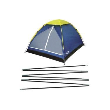 Varetas Barraca Iglu 4 Pessoas Camping Impermeável Iglu