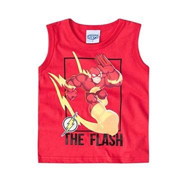 Regata Infantil Menino Brandili liga da justiça Flash-1