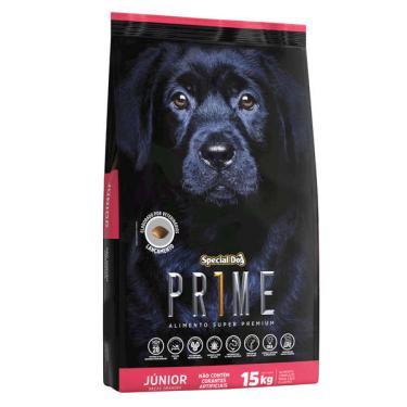 Ração Special Dog Prime Júnior para Cães Filhotes de Raças Grandes - 3 Kg
