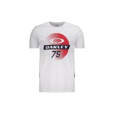 7807455dcbb43 Camiseta Oakley Mod Dirty Shield 2 0 Branca