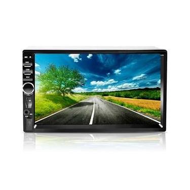 Central Multimidia Mp5 7 Polegadas Bluetooth USB SD e Espelhamento Android First Option