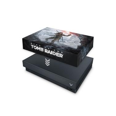 Capa Anti Poeira para Xbox One X - Rise Of The Tomb Raider