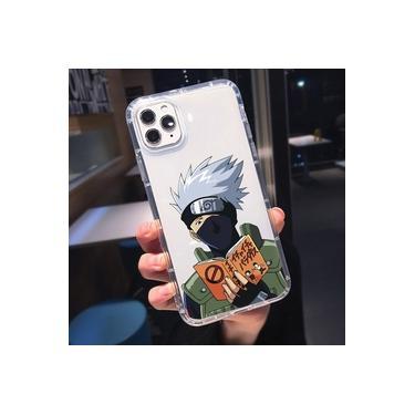 iPhone 7/ iPhone SE / iPhone 8 Kakashi Hatake Sharingan Capa de Celular Personalizada Anime Cosplay Otaku