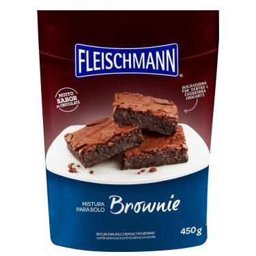 Mistura Para Bolo Fleischmann Brownie 16X450G