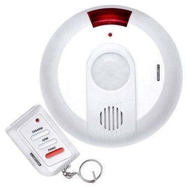Imagem de Sensor de Presença e Movimento 360º com Alarme Security Multilaser SE0700ML C/ 01 controle