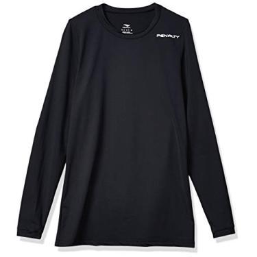 Camiseta manga longa, Matis, Penalty, Masculino, Preto, G