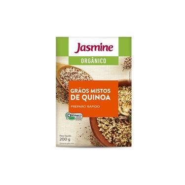 Quinoa Real em Grãos Orgânica Jasmine 200g