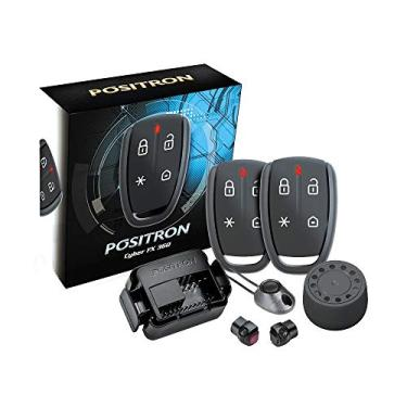Alarme Automotivo Pósitron Cyber Fx 360-3 anos de Garantia - 2 controles remotos