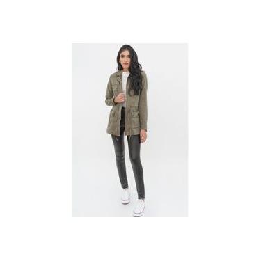 Jaqueta Yexx Feminino Parka jeans Y46367