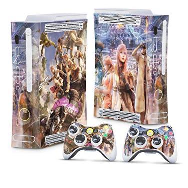 Skin Adesivo para Xbox 360 Fat Arcade - Final Fantasy Xiii #B