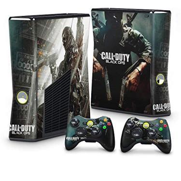 Skin Adesivo para Xbox 360 Slim - Call Of Duty Black Ops