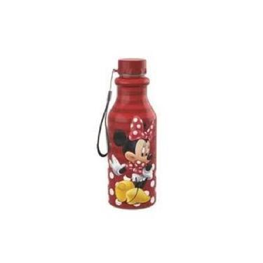 Garrafa Retro Minnie Vermelha 500Ml 9081 Plasutil