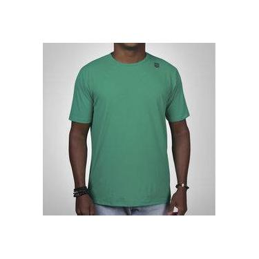 e565101edec77 Camiseta Mantle Poliamida Verde Escuro Masculina com Proteção UV