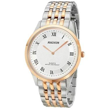 a124963a313 Relógio Magnum Masculino Ref  Ma21919m Slim