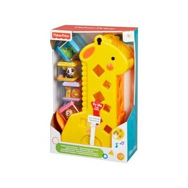 Girafa e Blocos Fisher-Price Pick a Blocks B4253