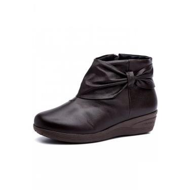 Imagem de Bota Feminina Doctor Shoes 158 Café 158-CF-58-1042 feminino