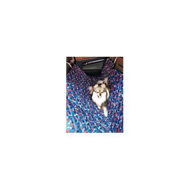 Imagem de Capa Protetor Banco Carro Pet Cachorro Estofado Traseiro