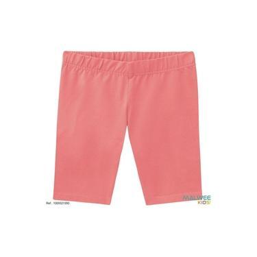 Bermuda legging infantil para meninas