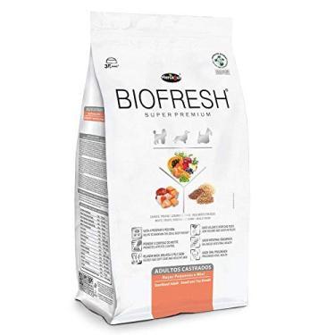 Ração Super Premium Hercosul Biofresh para Cães Adultos Castrados de Raças de Pequenas - 3kg