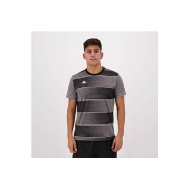 Camisa Kappa Maggio Chumbo