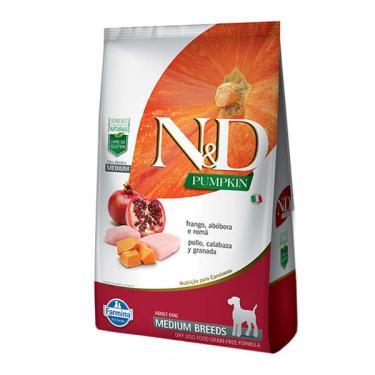 Ração Farmina N&D Pumpkin Frango para Cães Adultos de Raças Médias - 2,5 Kg