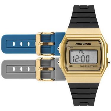 f8ace9b445e Relógio Masculino Mormaii Mojh02af 8D Preto