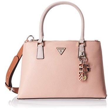 Imagem de Guess Bolsa Becca feminina multicolorida rosa - Hwvg7742060bsm
