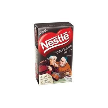 Chocolate Em Po Solúvel Padre 100% Cacau Caixa 200gr