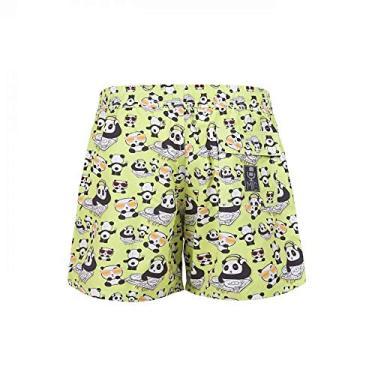 Shorts Infantil Panda Dj > de 7 a 8 anos