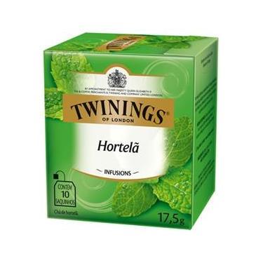 Twinings Of London Sabor Hortelã 17,5G - 10 Saquinhos