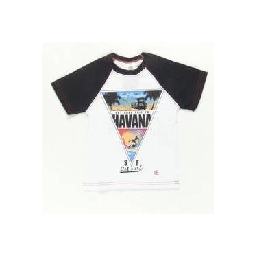Camiseta Surf Trip To Havana Preto Costão