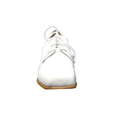 Imagem de Sapato Branco Quadrado Dina Mirtz
