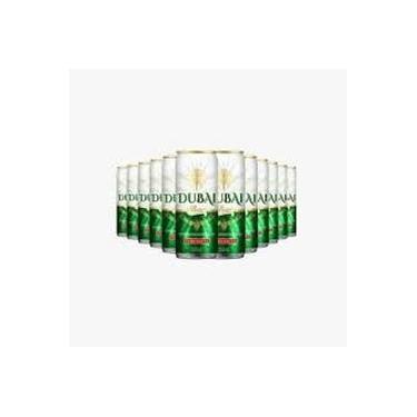 Cerveja Dubai Puro Malte American Lager Lata Cx. C/12 Unidades