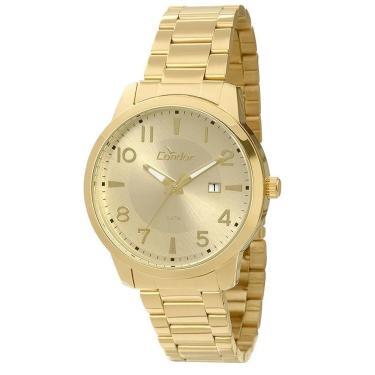 78554ec6508 Relógio Masculino Condor Analógico CO2115TC 4X - Dourado