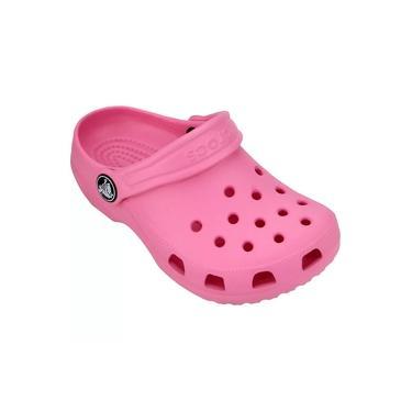 Sandália Infantil Crocs Classic Clog K - Pink